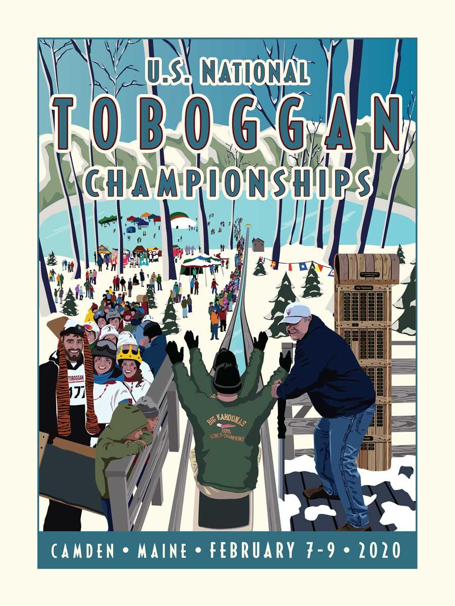 2020 Toboggan Poster